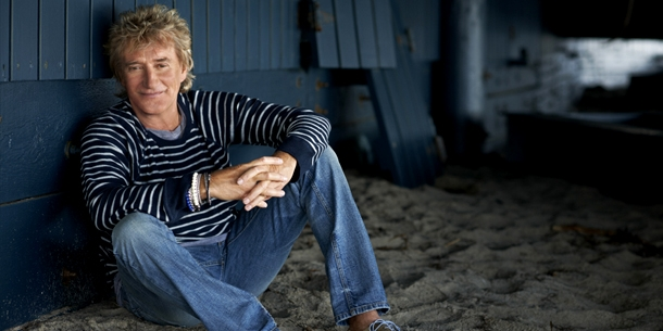 ROD STEWART returns to UK number one spot